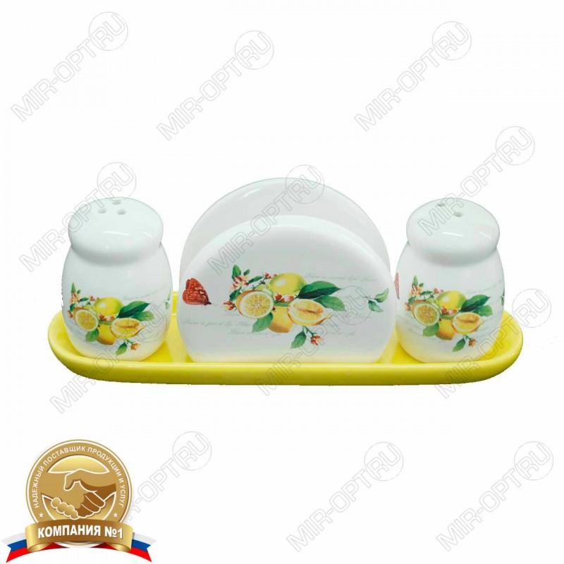 Купить набор для специй 2 пр+салфетница 69606 оптом в Ростове-на ... a4950e6970752